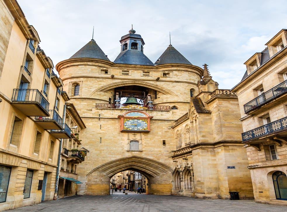 One of the medieval city gates, Porte Cailhau
