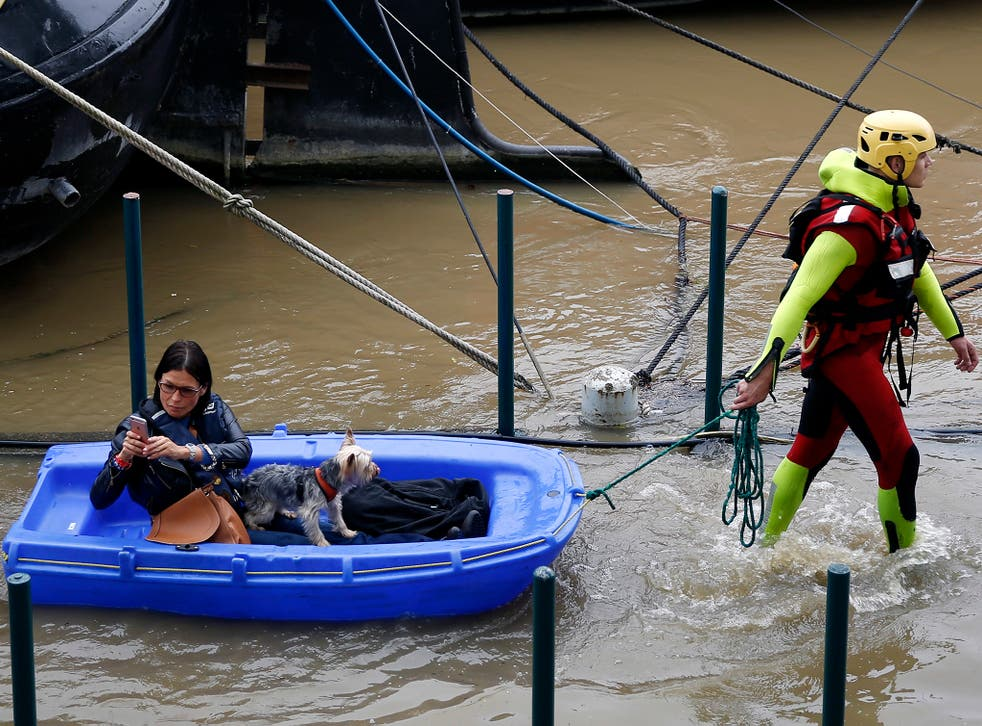 A 'flood crisis' centre has been launched in Paris to monitor the River Seine after the wettest recorded May since 1882