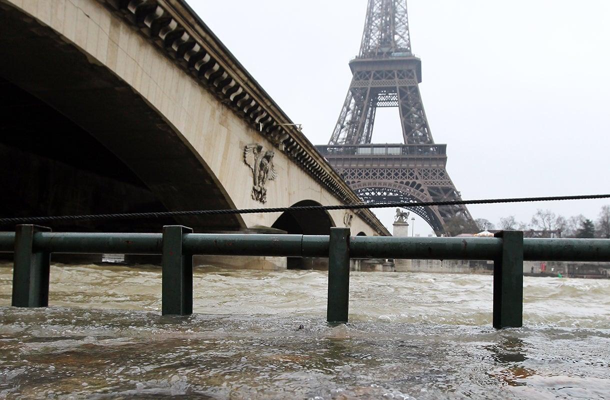 River In Paris  Letters