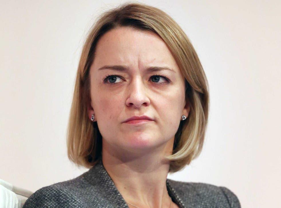 BBC political editor Laura Kuenssberg has been criticised for her online behaviour.