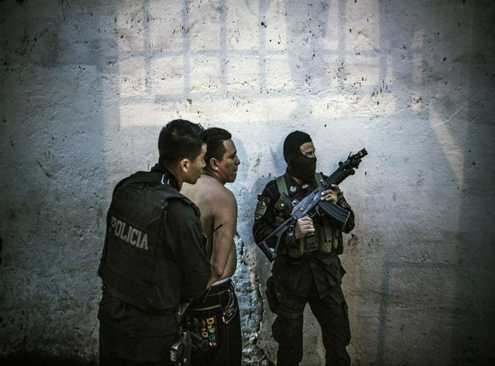 The government has established special units to take on the gangs