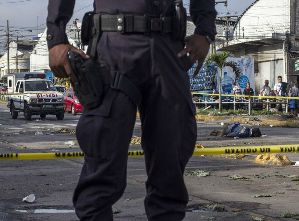 El Salvador inherited the title of world's deadliest peacetime country from Honduras
