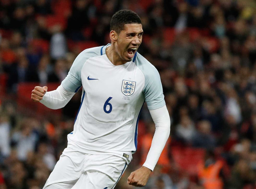 Smalling's late header separated the two sides at the final whistle