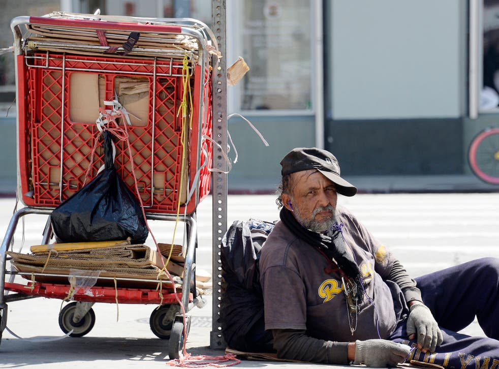 There are thought to be over 46,000 homeless people living in LA County at present