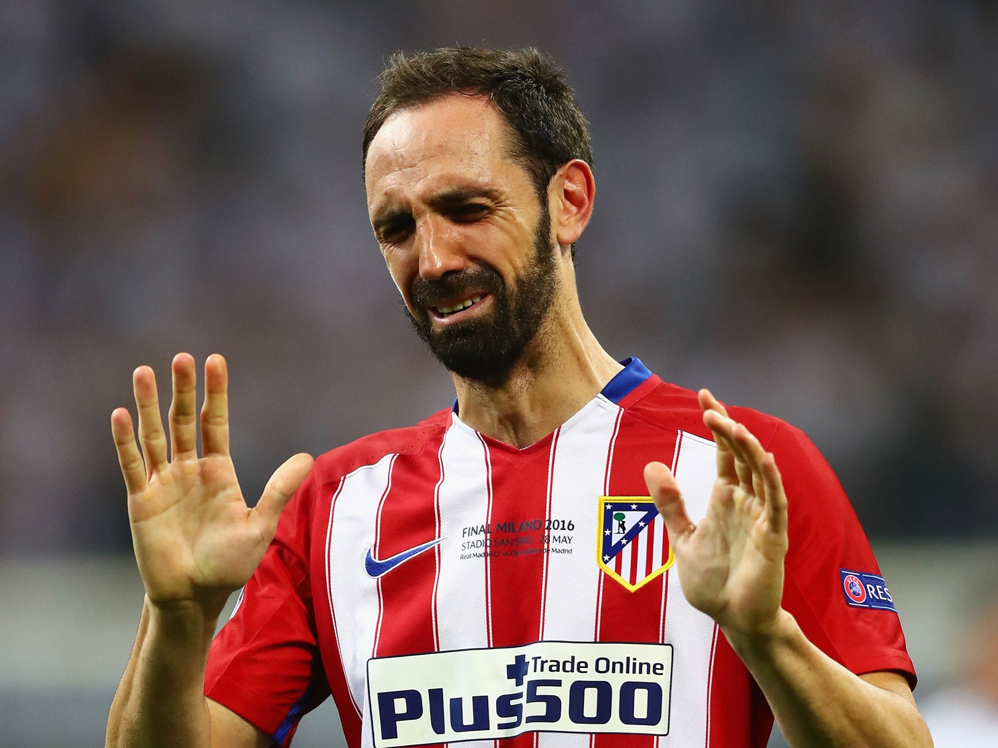 Juanfran's Atletico Madrid shirt sales 'skyrocket' following Champions League final penalty miss ...