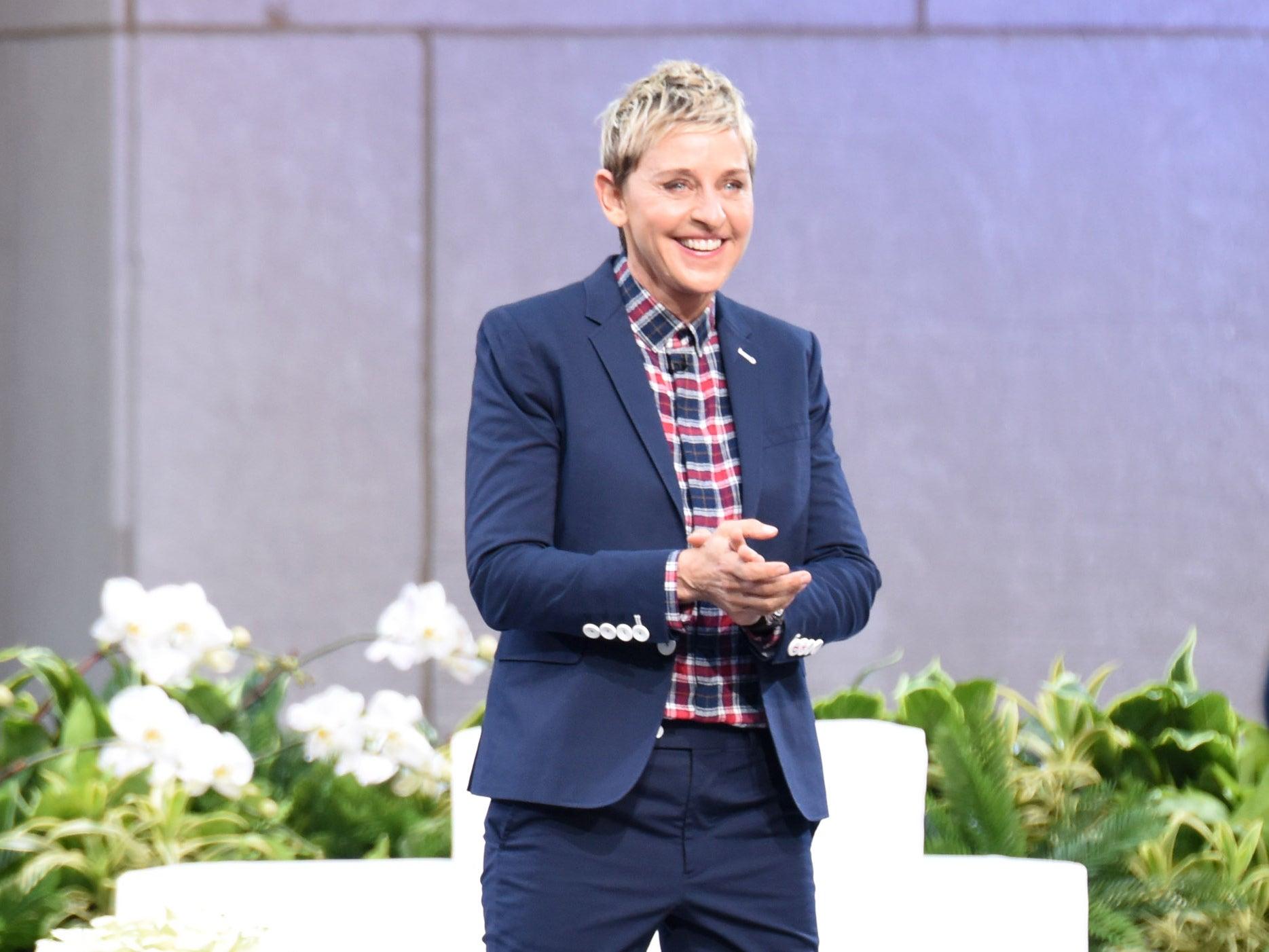Ellen DeGeneres sued by woman after using her name for breast joke     The Independent Ellen DeGeneres sued by woman after using her name for breast joke   The Independent