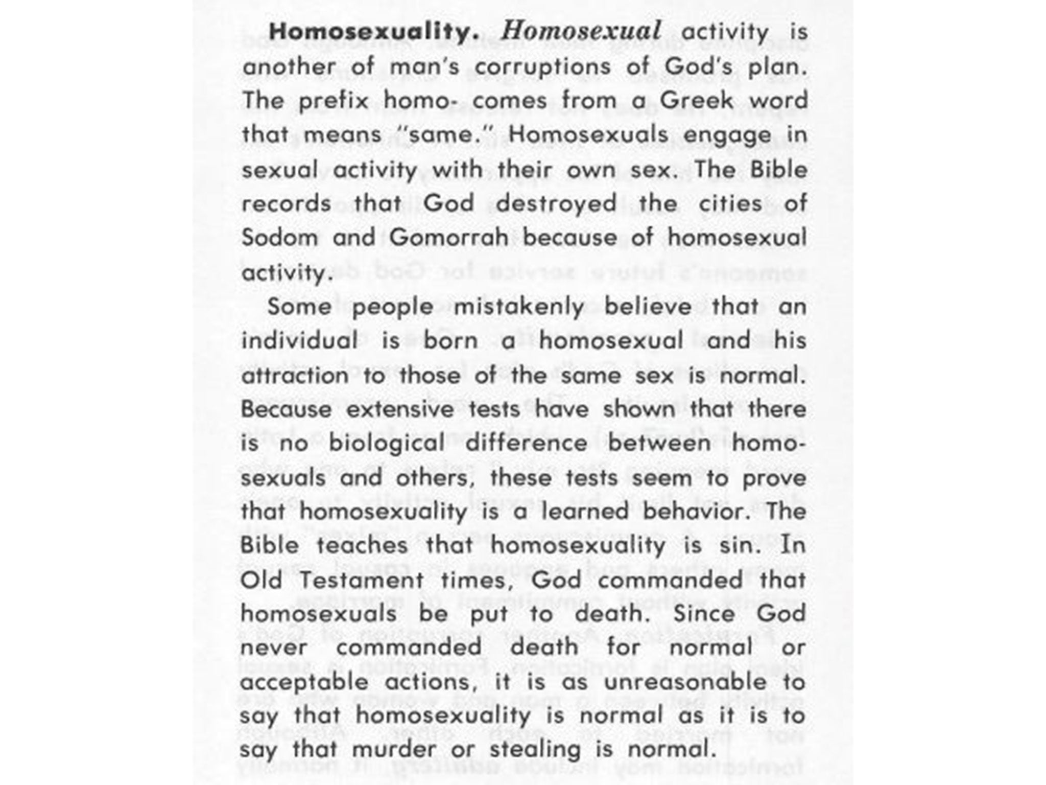 Interactionist theory homosexuality in christianity