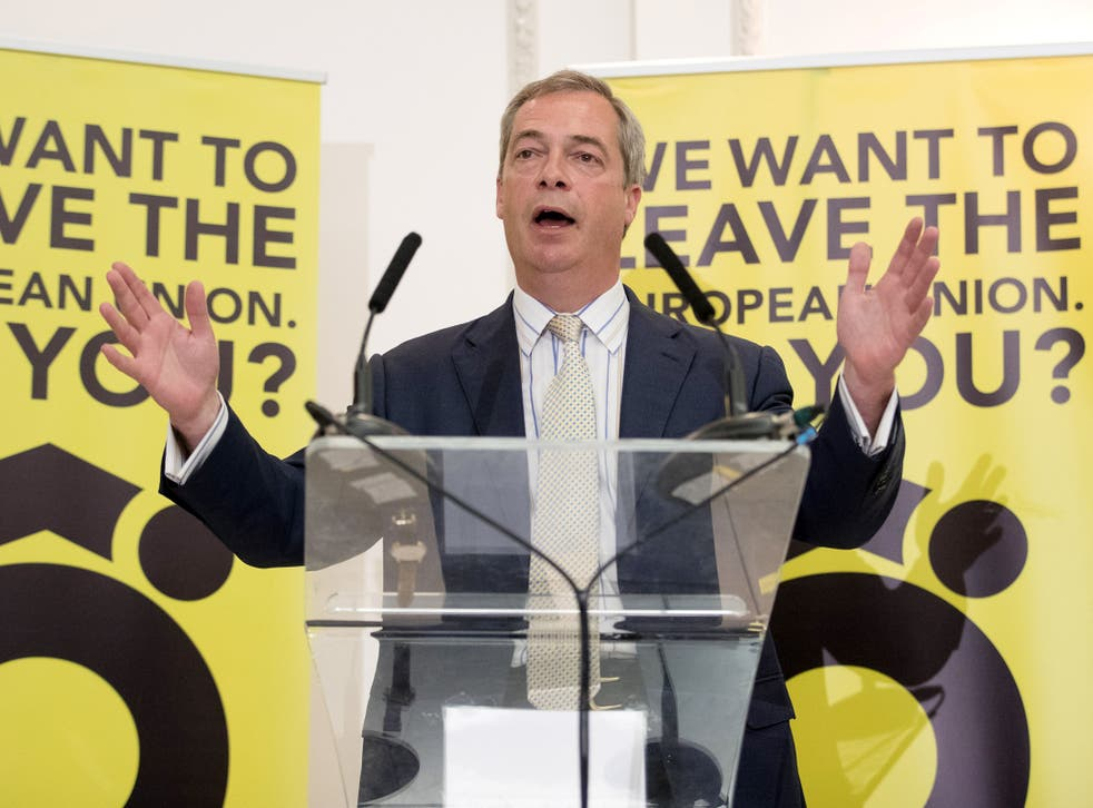 Farage also called the Prime Minister 'Dishonest Dave' and said the Tory leader's integrity was being questioned