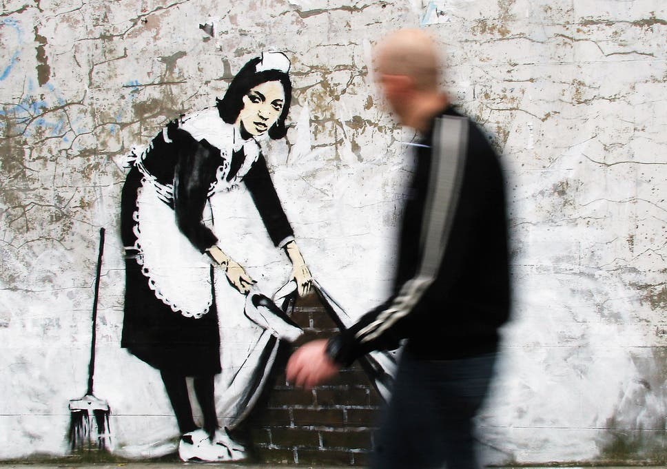 Banksy Identity There S A Wild Theory The Graffiti Artist Is 3d Of