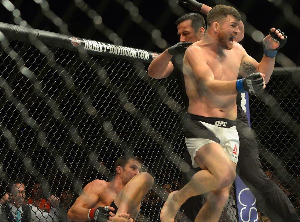 Michael Bisping beats Luke Rockhold