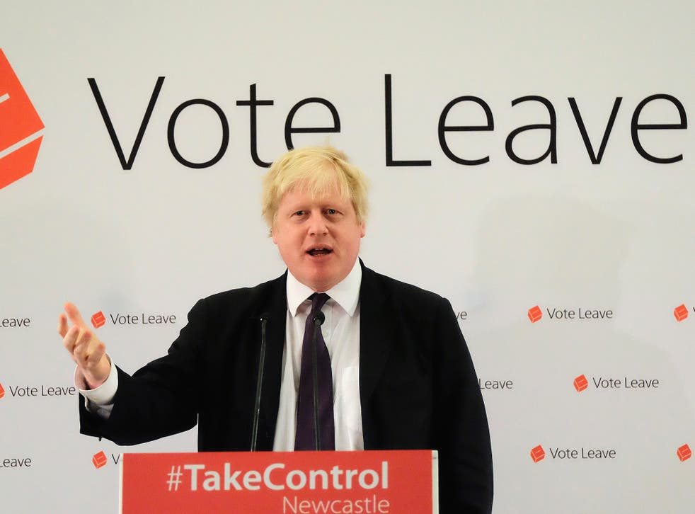In recent weeks Boris Johnson has relentlessly campaigned on immigration