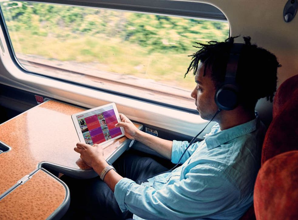 Beam wil initally be available on all Virgin Pendolino services on the West Coast route