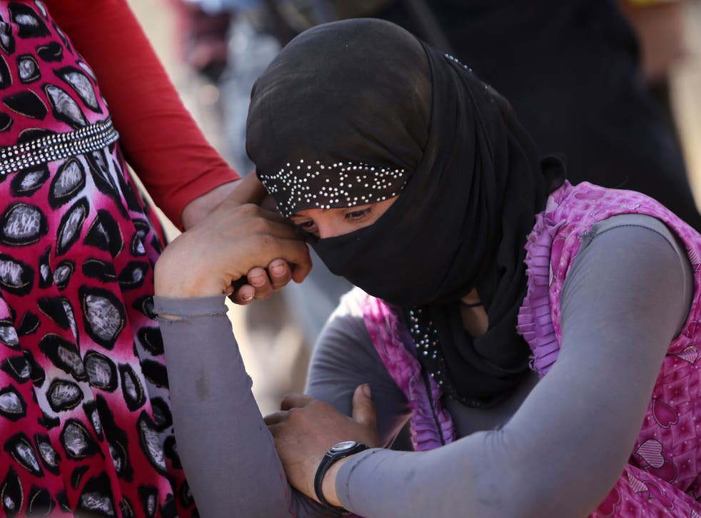 Thousands of Yazidi women were taken captive when Isis seized control of Sinjar, Iraq, in August 2014