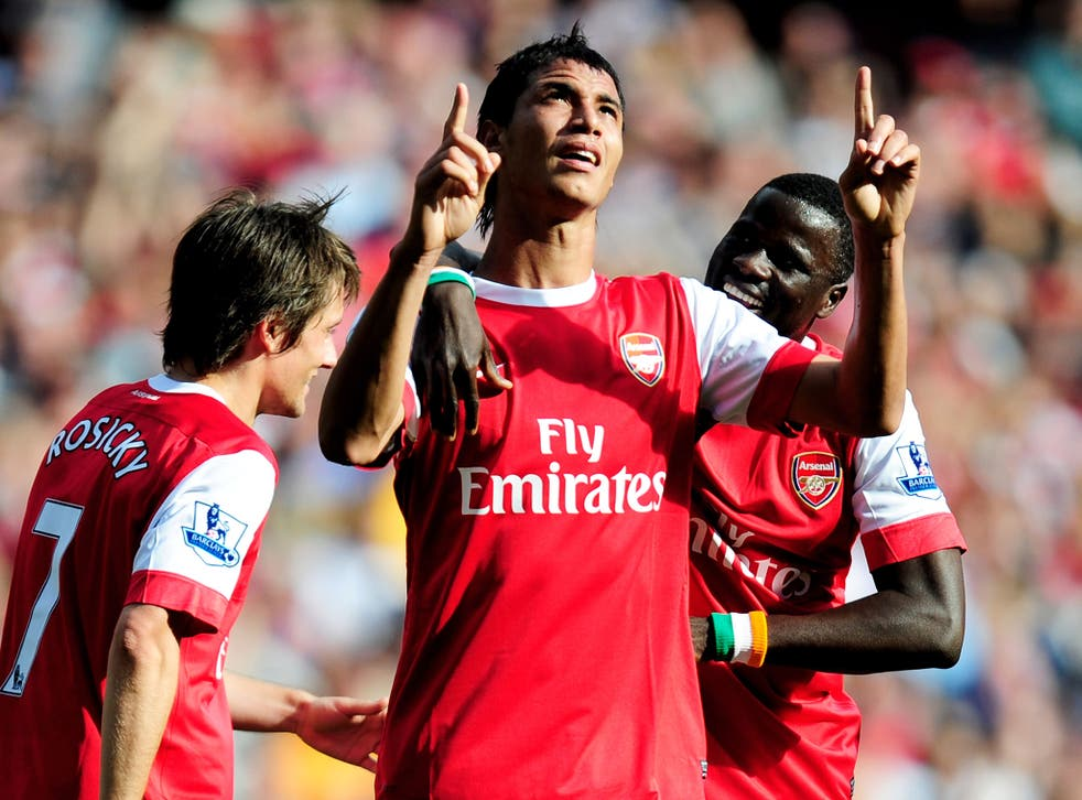Arsenal signing Marouane Chamakh was far from a hit