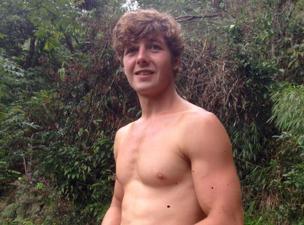 Aiden Webb, 22, has been missing since Friday