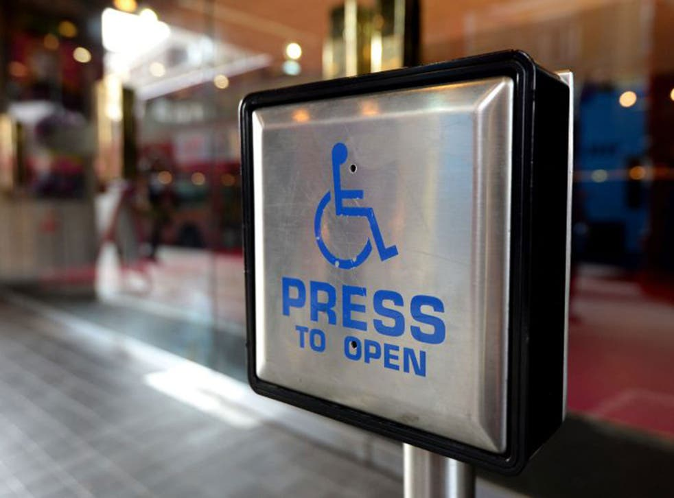 The difference between the employment rate for those with disabilities and those without is currently 32 per cent