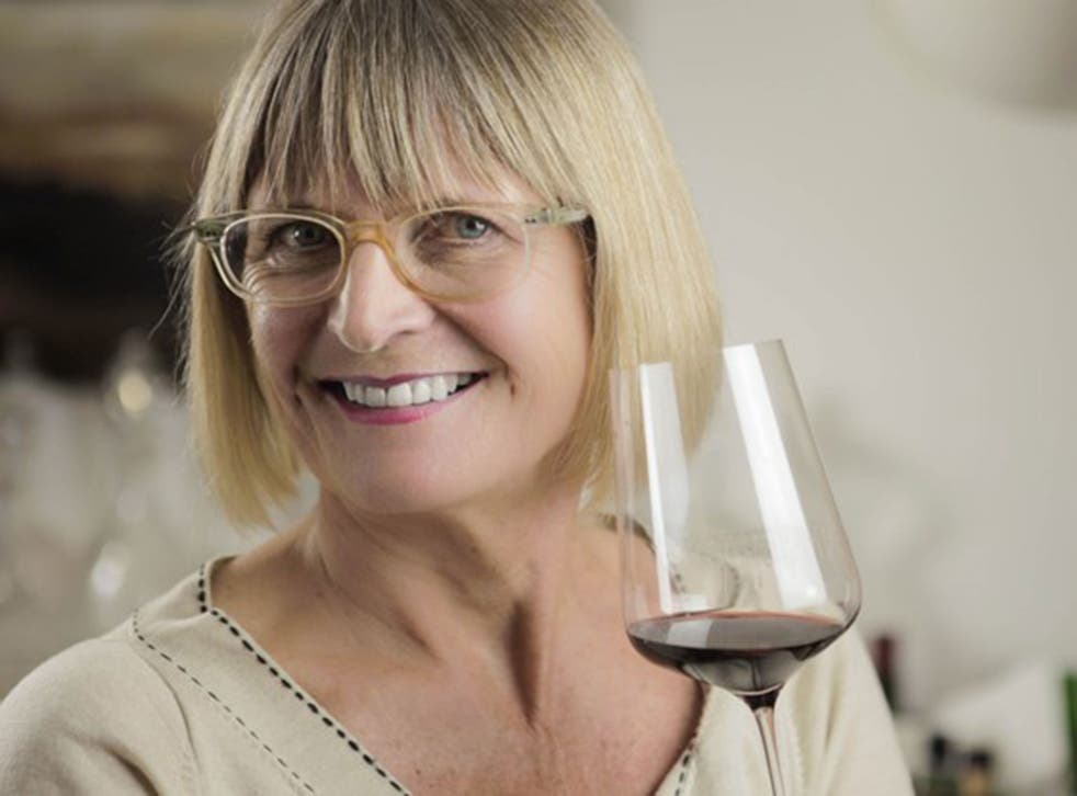 Jancis Robinson was speaking at the Hay Festival