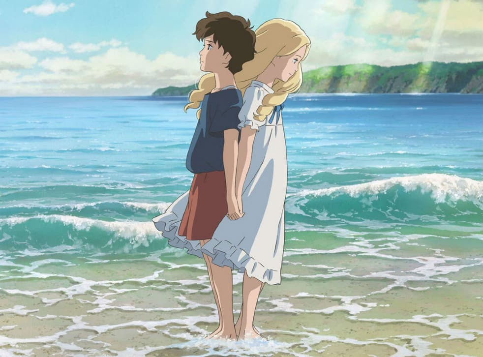 Female leads Anna and Marnie in the latest Studio Ghibli release When Marnie Was There
