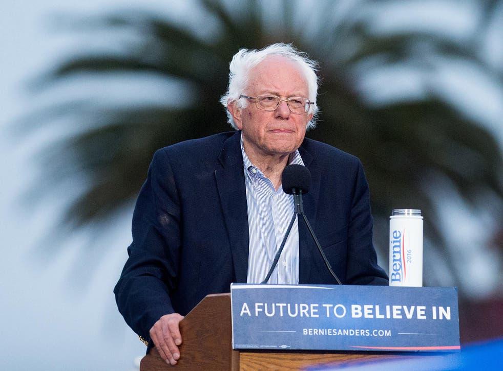 Bernie Sanders addresses supporters in San Francisco on eve of primary <em>AP</em>
