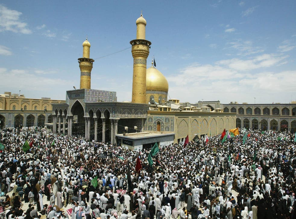 Karbala, in Iraq, is a holy city for Shia Muslims