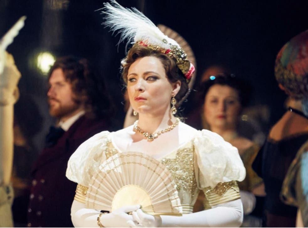 A rare combination of power, richness, and purity of tone: Natalya Romaniw (Tatyana) stars in Eugene Onegin, Garsington Opera