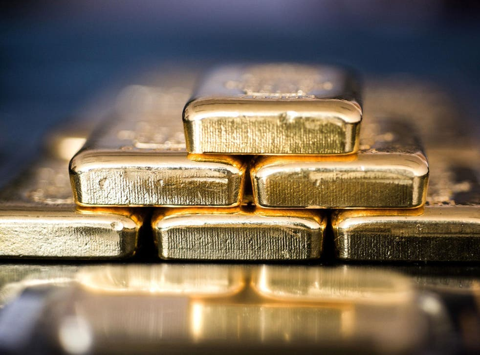The surging gold price clearly shows the panic sweeping financial markets, according to Adrian Ash, head of Research at BullionVault.com