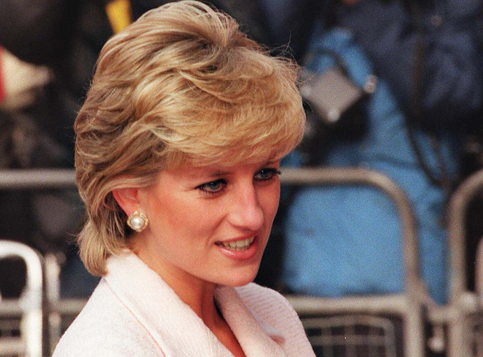 Princess Diana in March 1996