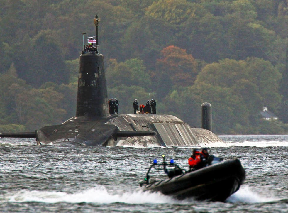 AWE is responsible for building and maintaining warheads of the UK's Trident nuclear deterrent