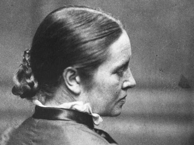 English physician Elizabeth Garrett Anderson circa 1875