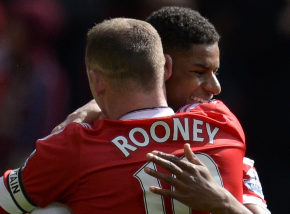Rooney has witnessed Rashford's rise at club level