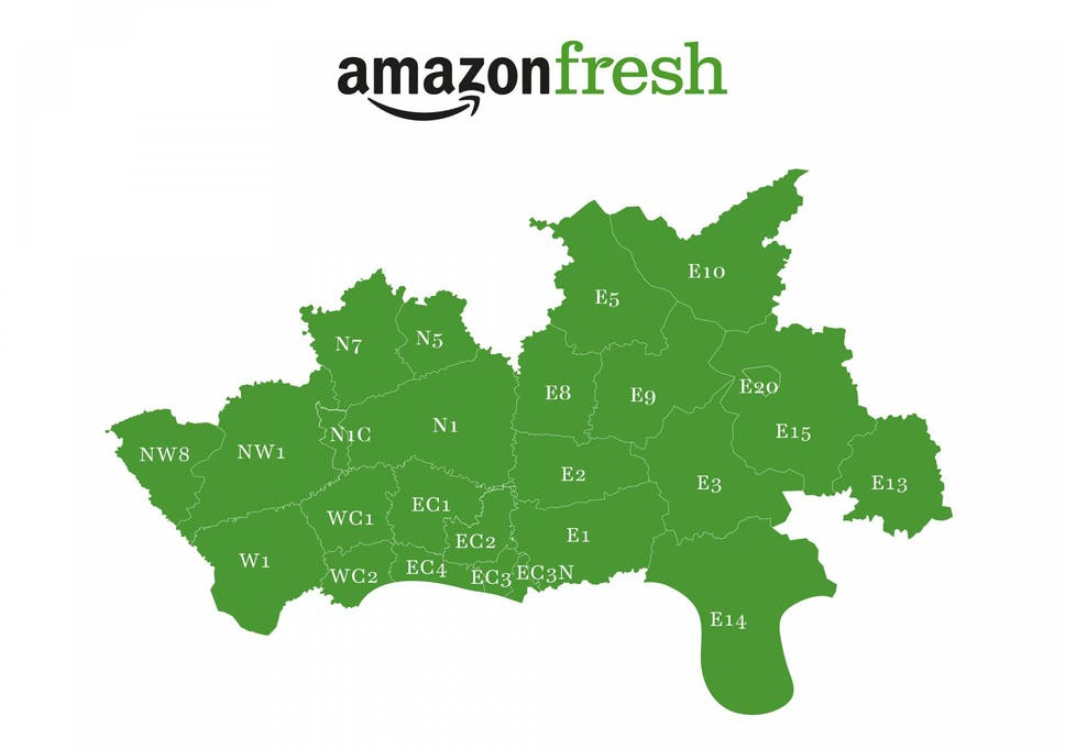 Amazon Launches Its Fresh Food Delivery Service In The Uk The