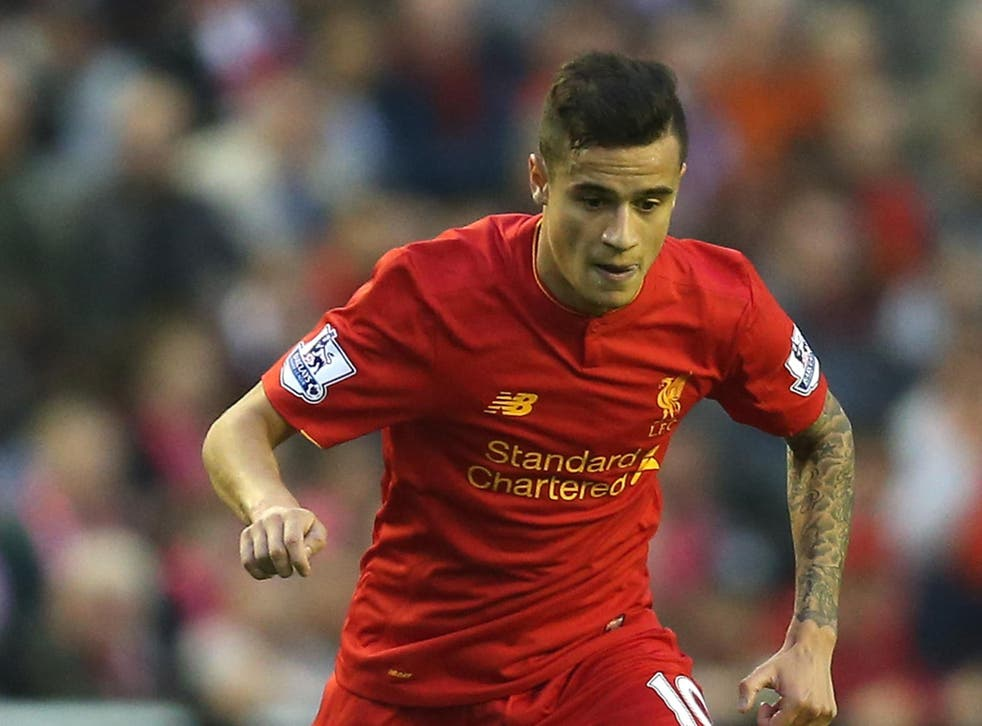 Coutinho was named Liverpool's player of the year for the 2015/16 season