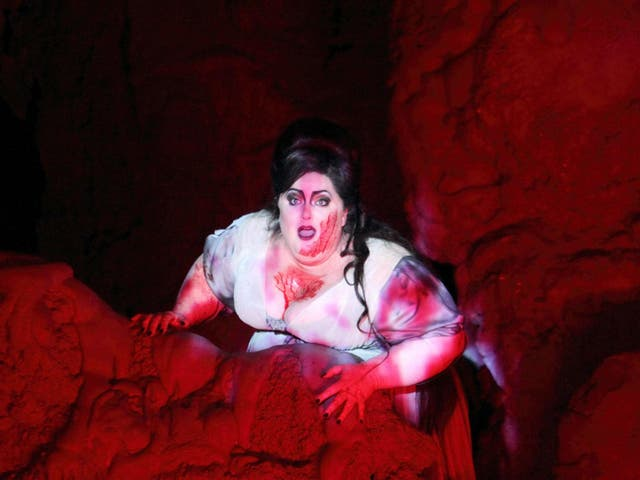 Heidi Melton as Isolde in the new production of Wagner's classic