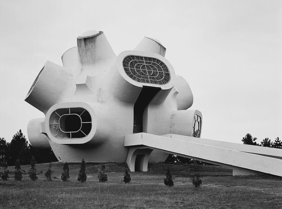 Monument Ilinden (Makedonium), Krushevo, Macedonia, 1974 by Jordan and Iskra Grabuloski.