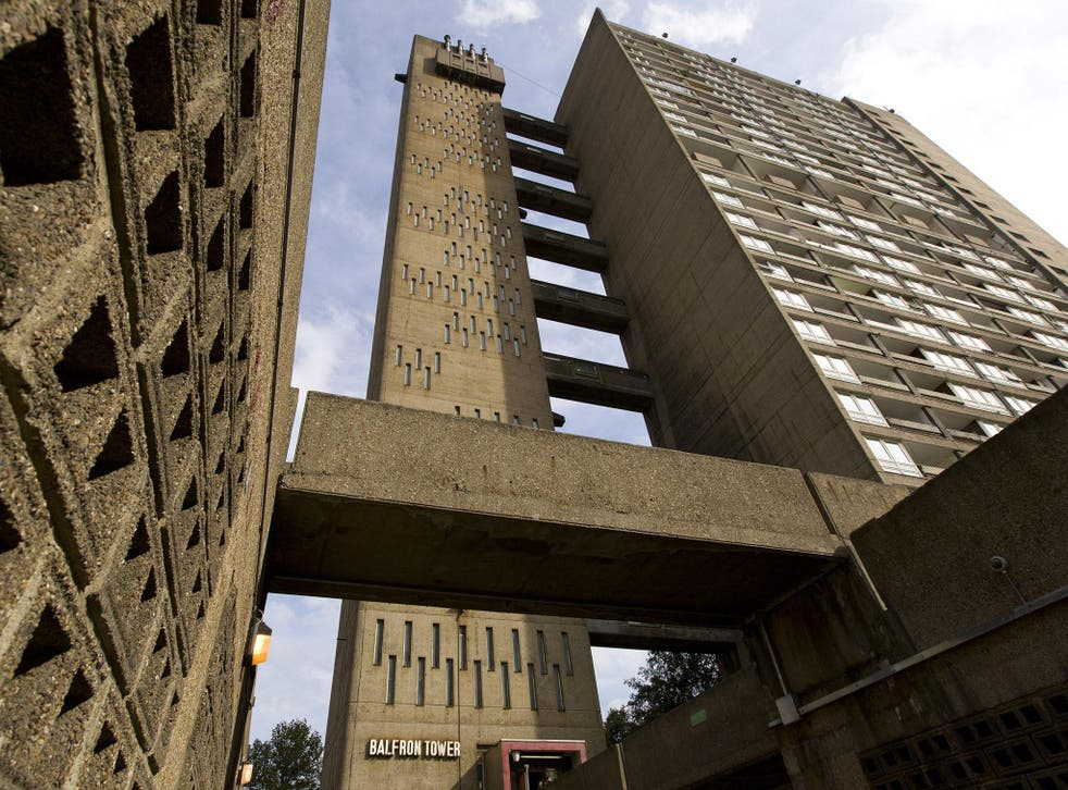 The Balfron Tower in east London is an icon of brutalism
