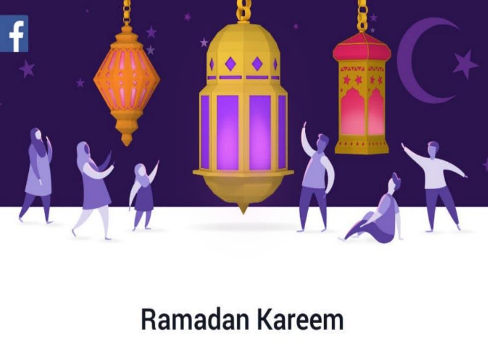 Facebook's Ramadan message to users