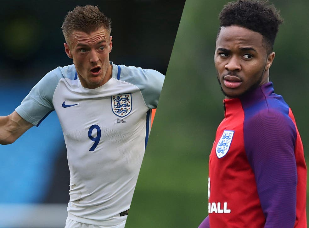 Sterling is set to be included at the expense of Vardy