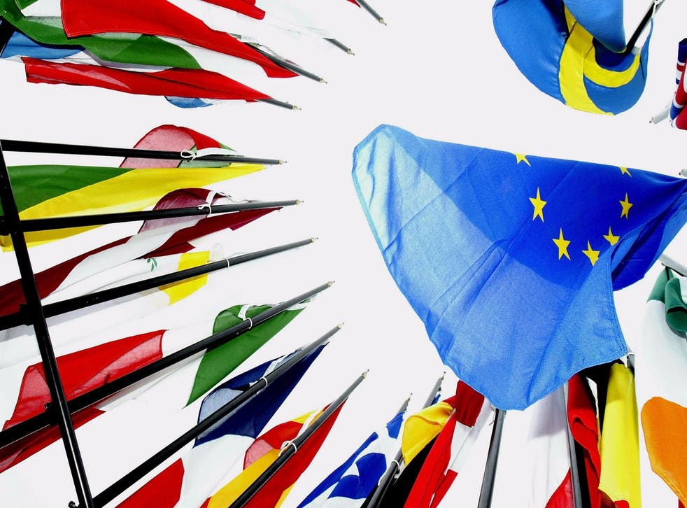 Member flags of the European Union