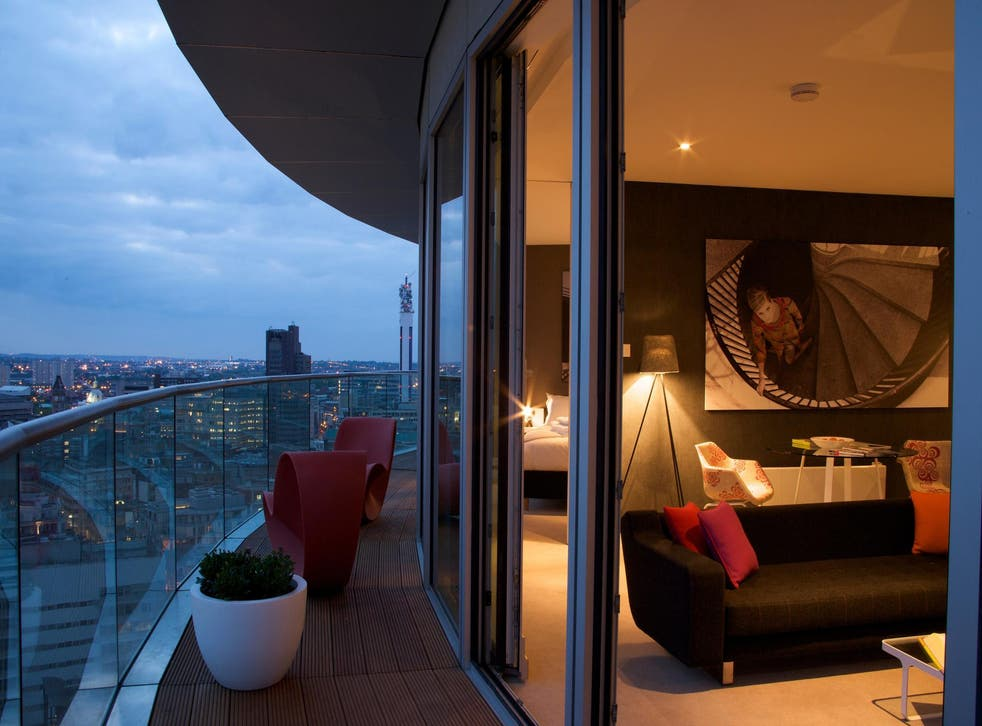 Staying Cool at the Rotunda offers stylish luxury and panoramic views of Birmingham
