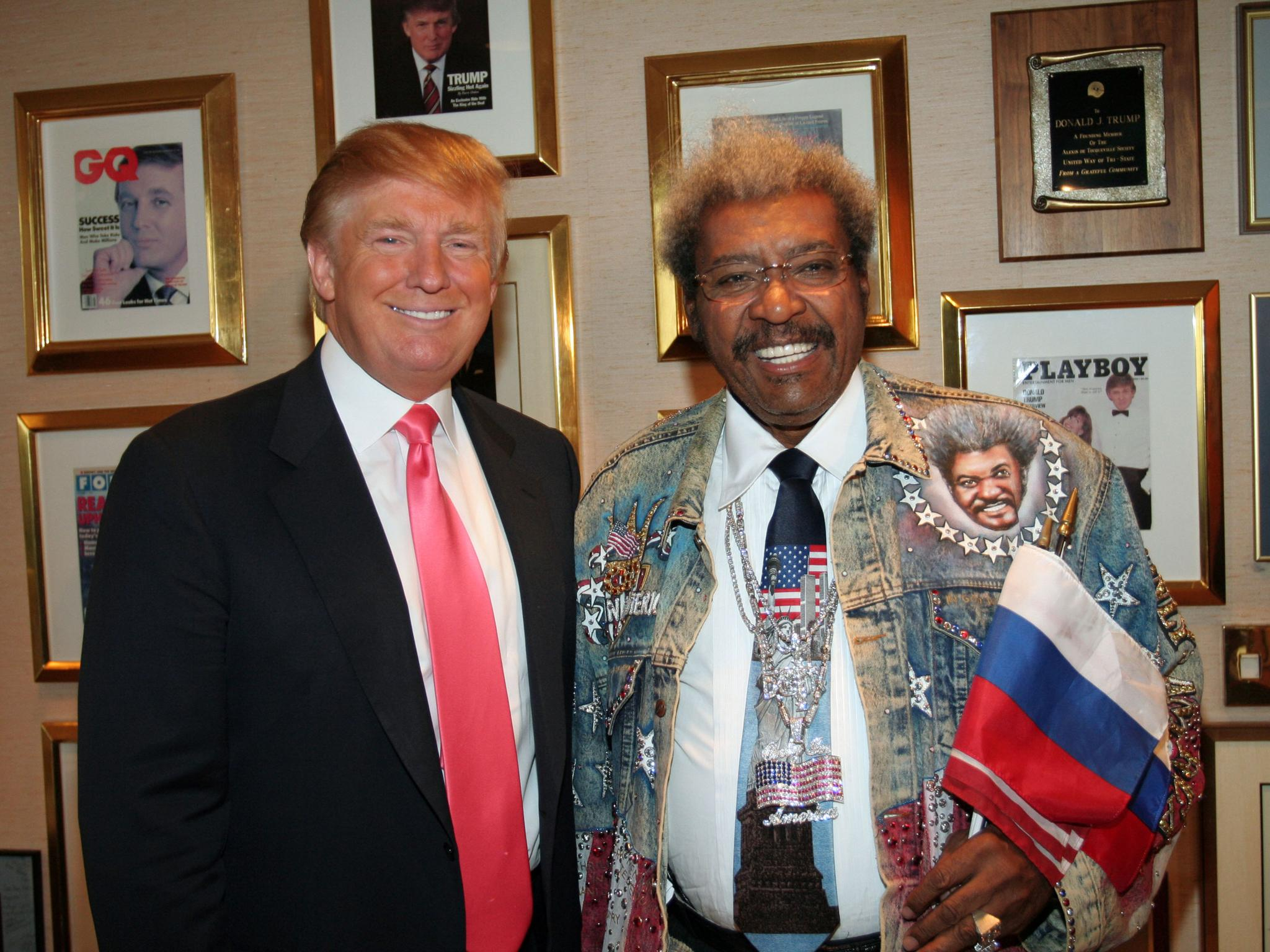 Image result for donald trump don king