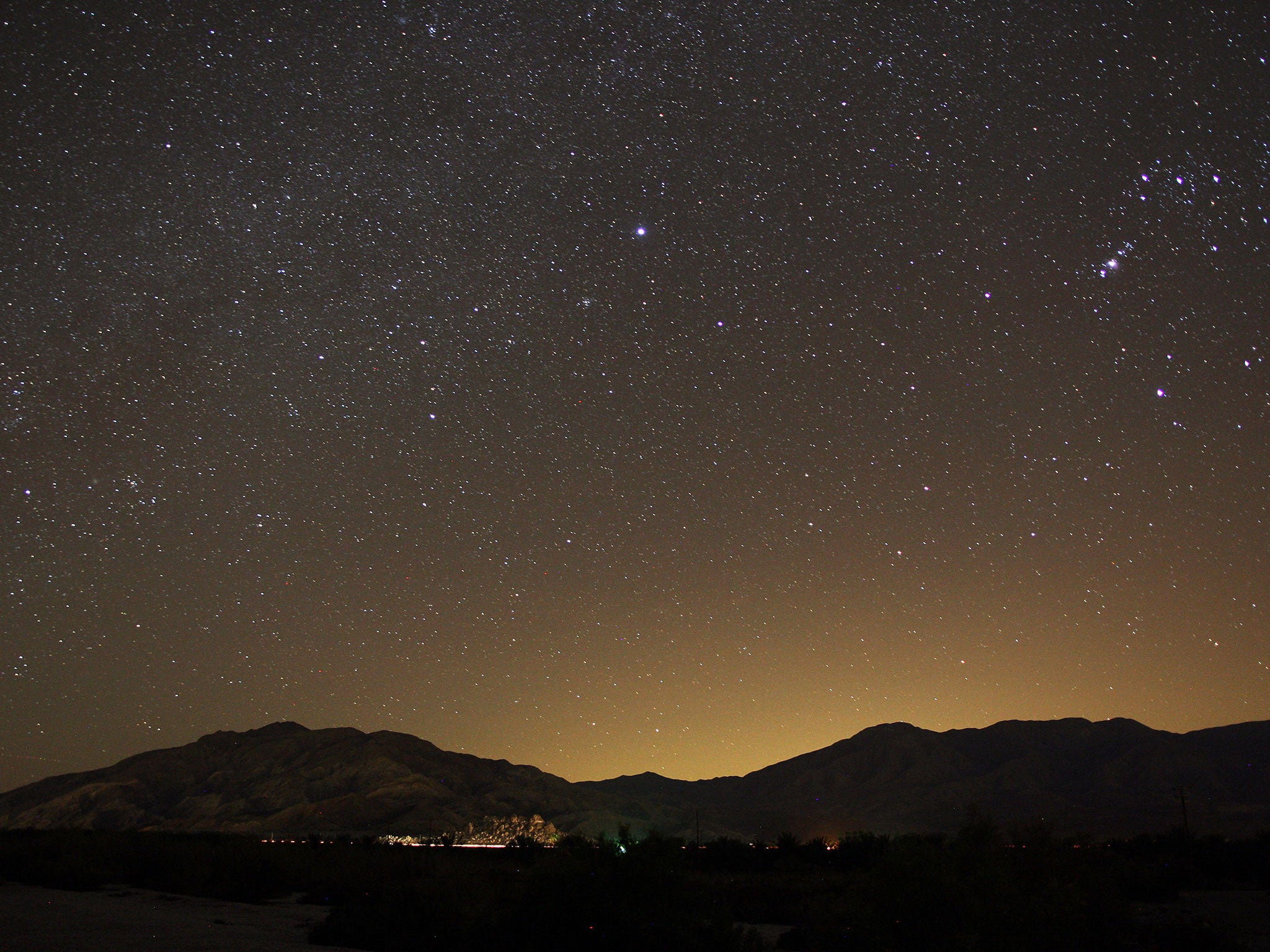 Light pollution 'prevents a third of people from seeing Milky Way'