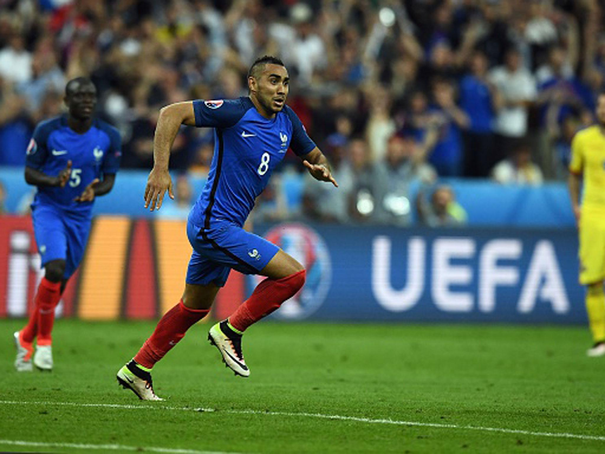 France vs Romania Twitter reacts to Dimitri Payet s scorching