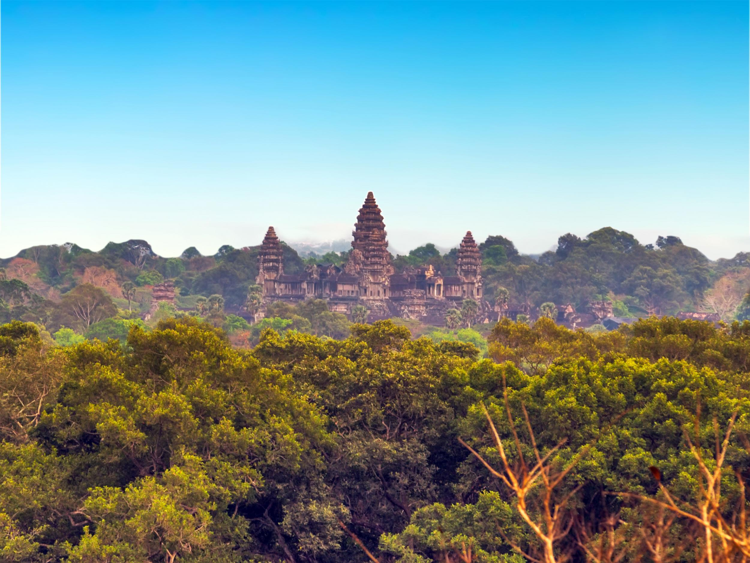 Huge medieval cities unearthed in Cambodia near Angkor Watt