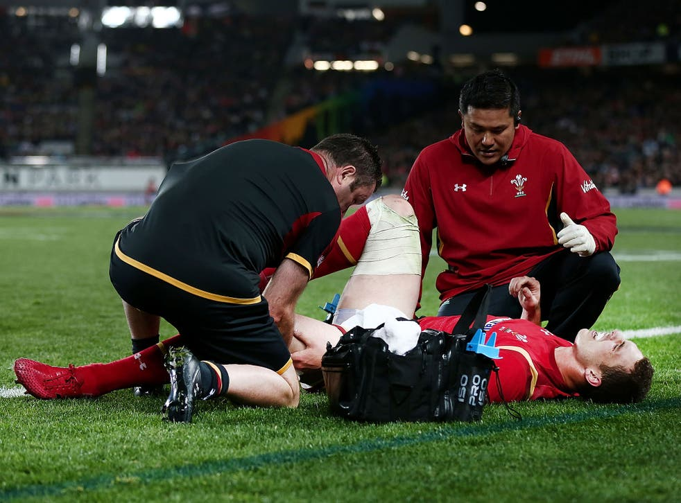 George North is set to miss the rest of Wales's tour of New Zealand