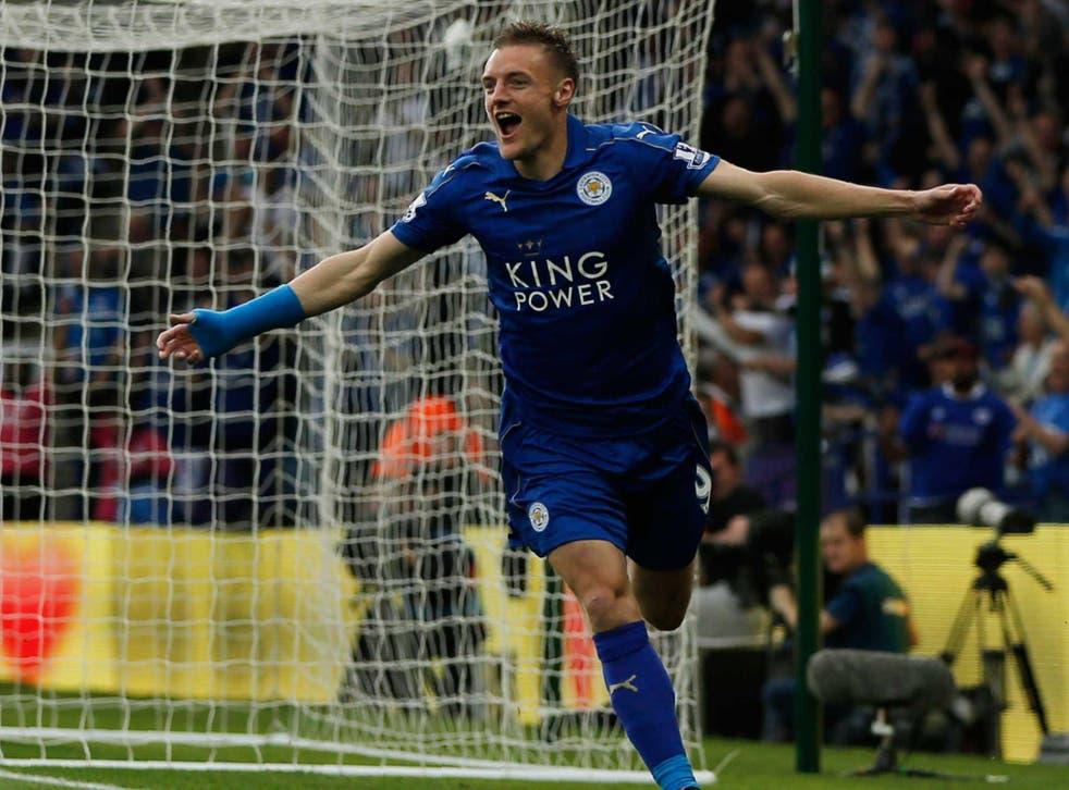 Jamie Vardy scored 24 goals for Leicester City last season