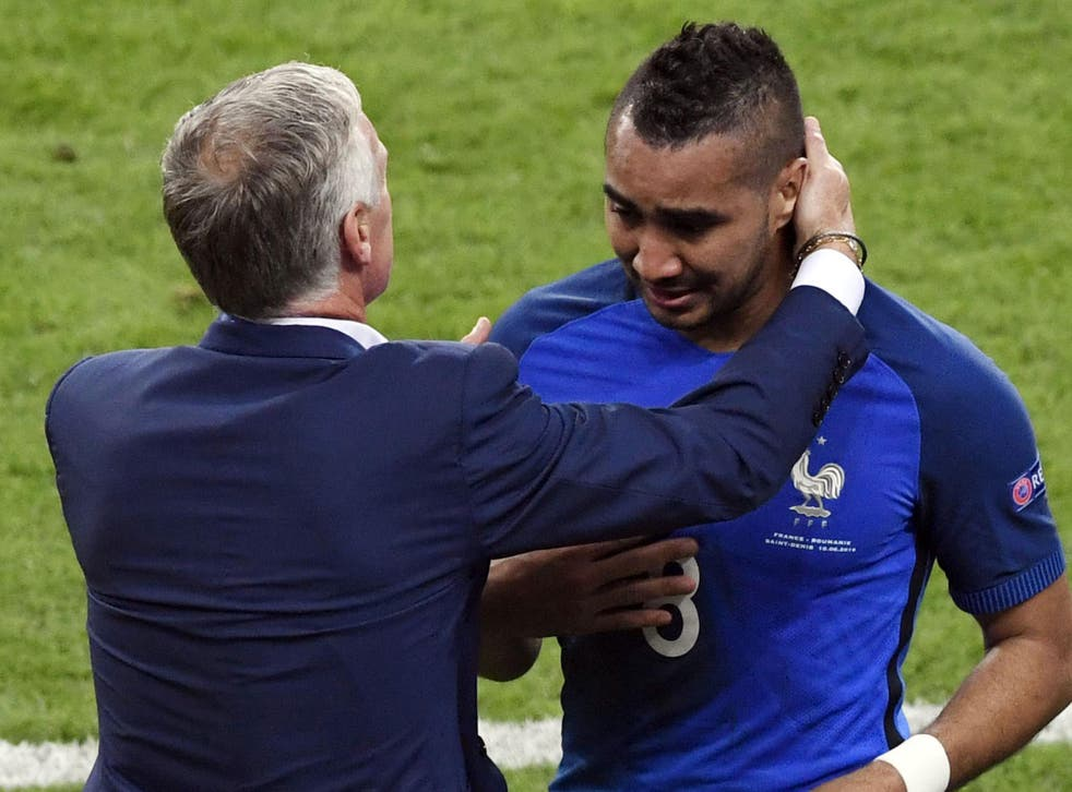 Payet walked off the pitch in tears of joy after his winning goal for France last week