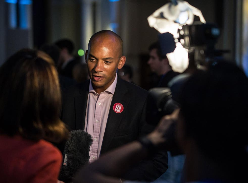 Leading Remain figure Chuka Umunna said Labour needed to tackle the issue of immigration in its industrial heartlands
