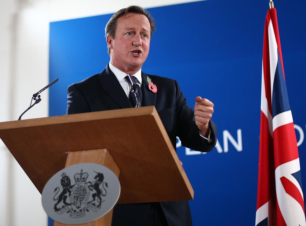The Prime Minister also warned of potential damage to the NHS and defence