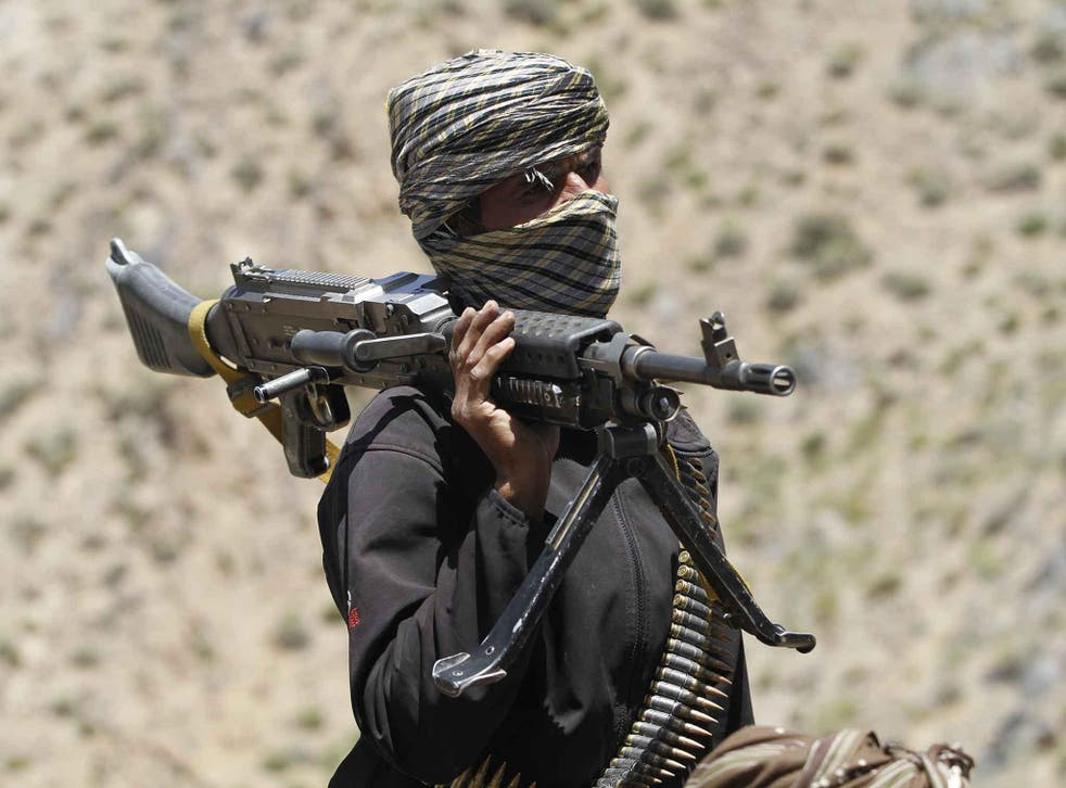 The Taliban now controls or contests around 40 per cent of Afghanistan