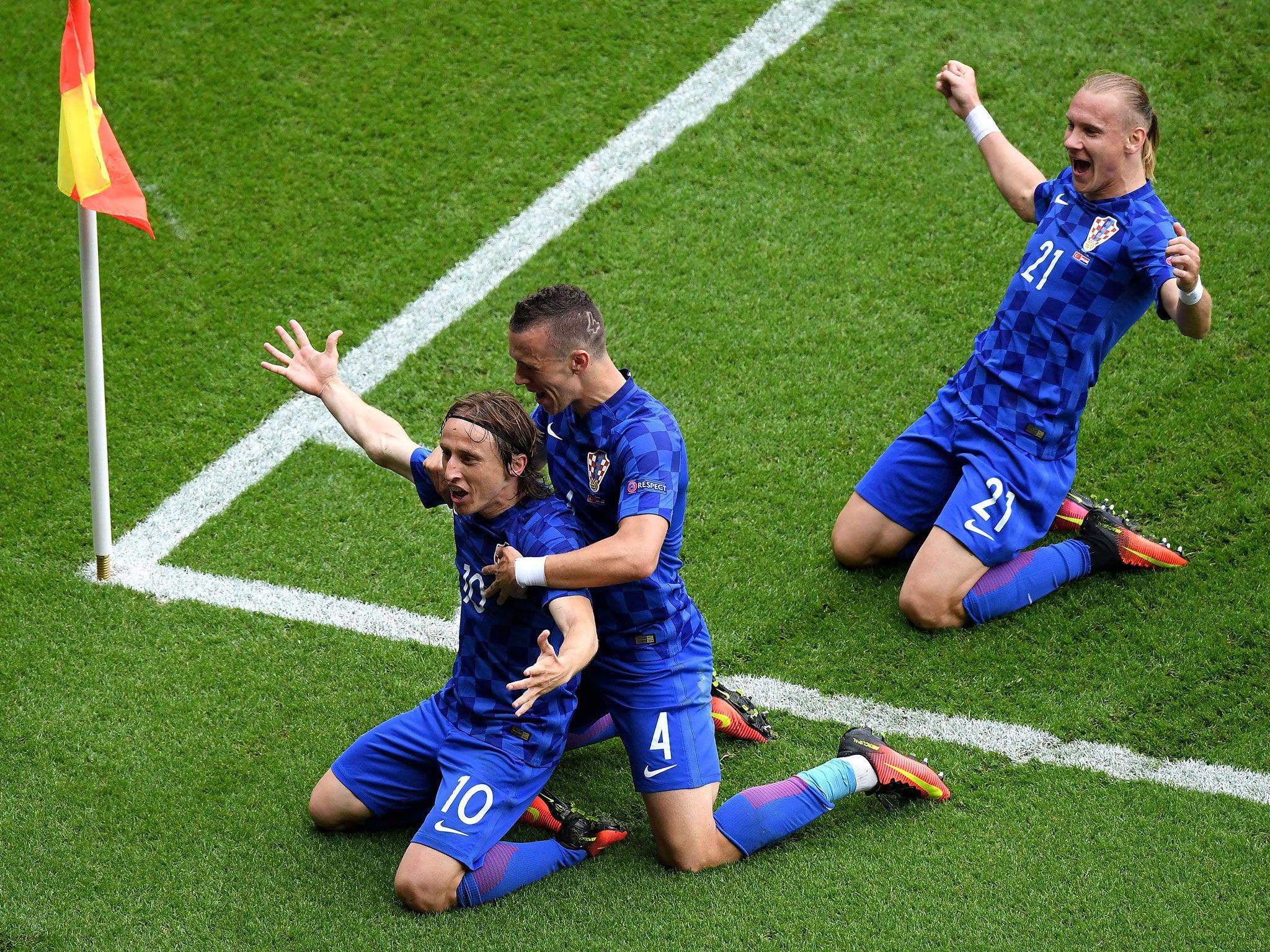 Turkey 0 Croatia 1 Luka Modric hailed after scoring incredible